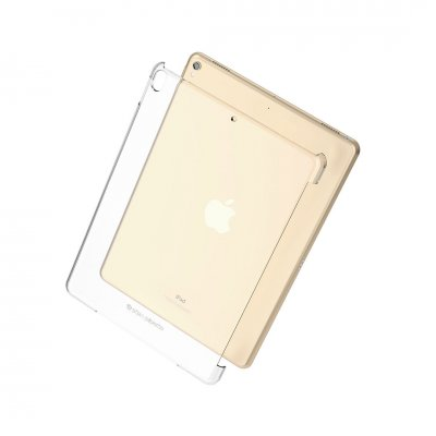 Pipetto iPad 10,2 tums (7/8 e generation) Clear Back Cover